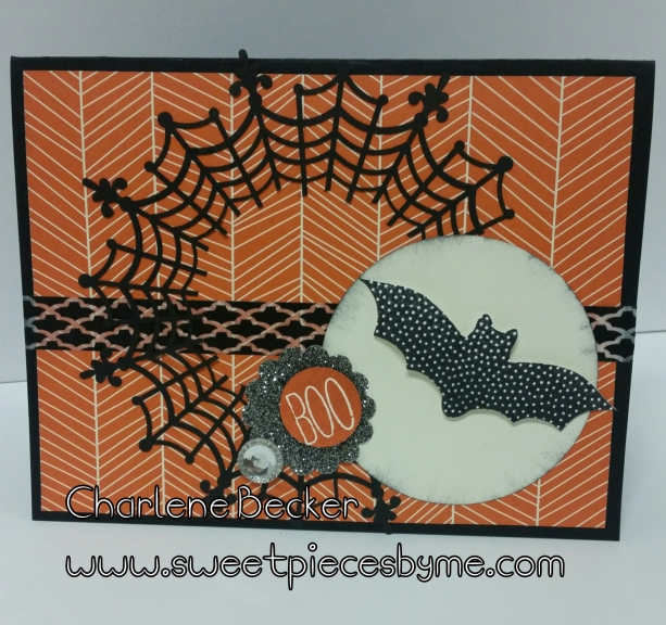 Halloween, Cheer All Year by Charlene Becker www.sweetpiecesbyme.com
