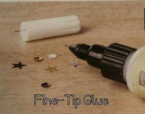Fine-Tip Glue www.sweetpiecesbyme.com
