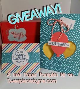 www.sweetpiecesbyme.com FREE Paper Pumpkin Kit