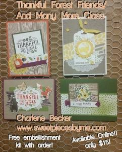 www.sweetpiecesbyme.com Online Card Class $15