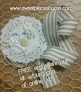 www.sweetpiecesbyme.com FREE Embellishments!